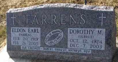 FARRENS, DOROTHY M. - Burt County, Nebraska | DOROTHY M. FARRENS - Nebraska Gravestone Photos