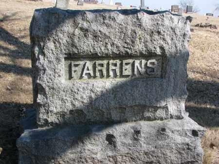 FARRENS, FAMILY STONE - Burt County, Nebraska | FAMILY STONE FARRENS - Nebraska Gravestone Photos