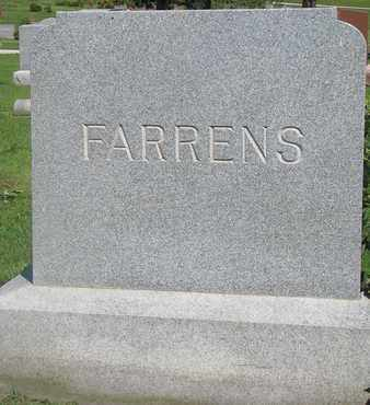 FARRENS, (FAMILY MONUMENT) - Burt County, Nebraska | (FAMILY MONUMENT) FARRENS - Nebraska Gravestone Photos