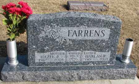 FARRENS, HAZEL P. - Burt County, Nebraska | HAZEL P. FARRENS - Nebraska Gravestone Photos