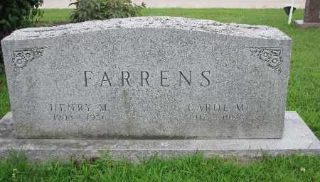 FARRENS, CAROL M. - Burt County, Nebraska   CAROL M. FARRENS - Nebraska Gravestone Photos