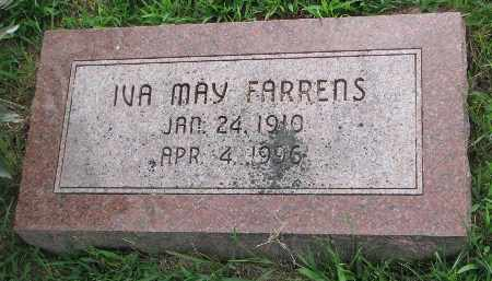 FARRENS, IVA MAY - Burt County, Nebraska | IVA MAY FARRENS - Nebraska Gravestone Photos