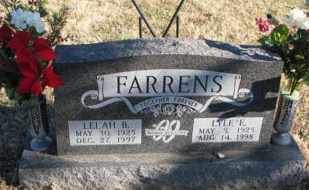 FARRENS, LELAH B. - Burt County, Nebraska | LELAH B. FARRENS - Nebraska Gravestone Photos