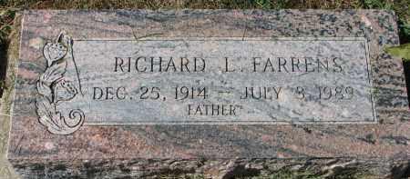 FARRENS, RICHARD L. - Burt County, Nebraska | RICHARD L. FARRENS - Nebraska Gravestone Photos