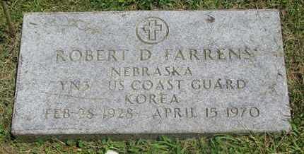 FARRENS, ROBERT D. - Burt County, Nebraska | ROBERT D. FARRENS - Nebraska Gravestone Photos