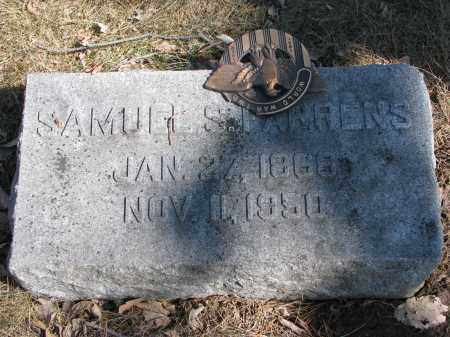 FARRENS, SAMUEL S. - Burt County, Nebraska | SAMUEL S. FARRENS - Nebraska Gravestone Photos