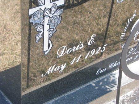FEHRER, DORIS E. (CLOSE UP) - Burt County, Nebraska | DORIS E. (CLOSE UP) FEHRER - Nebraska Gravestone Photos