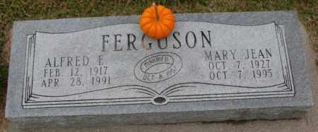 FERGUSON, MARY JEAN - Burt County, Nebraska | MARY JEAN FERGUSON - Nebraska Gravestone Photos