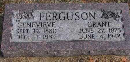 FERGUSON, GENEVIEVE - Burt County, Nebraska | GENEVIEVE FERGUSON - Nebraska Gravestone Photos