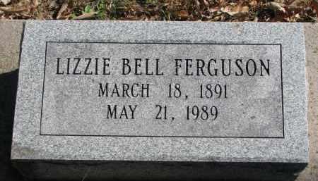 FERGUSON, LIZZIE BELL - Burt County, Nebraska | LIZZIE BELL FERGUSON - Nebraska Gravestone Photos