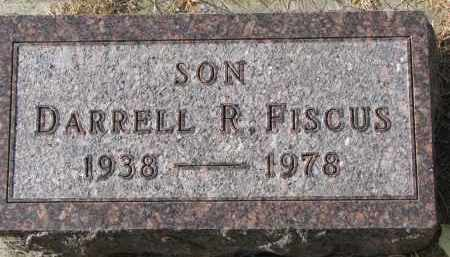 FISCUS, DARRELL R. - Burt County, Nebraska | DARRELL R. FISCUS - Nebraska Gravestone Photos