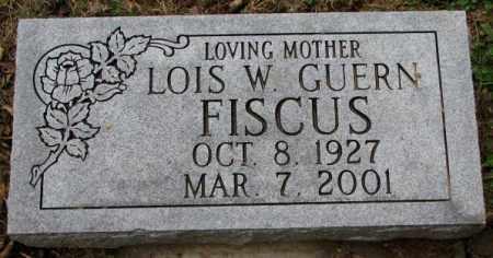FISCUS, LOIS W. - Burt County, Nebraska | LOIS W. FISCUS - Nebraska Gravestone Photos