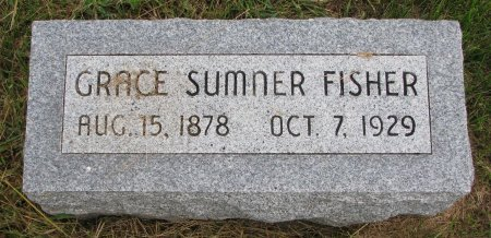 FISHER, GRACE - Burt County, Nebraska   GRACE FISHER - Nebraska Gravestone Photos