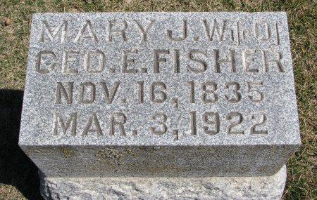 FISHER, MARY J. - Burt County, Nebraska | MARY J. FISHER - Nebraska Gravestone Photos