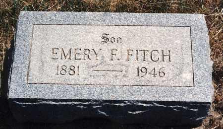 FITCH, EMERY FRIEND - Burt County, Nebraska | EMERY FRIEND FITCH - Nebraska Gravestone Photos