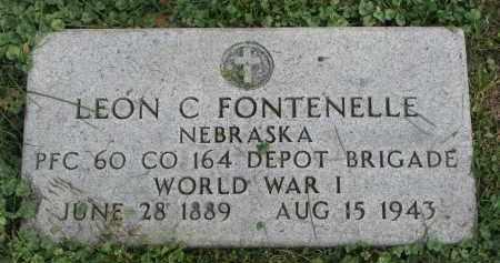 FONTENELLE, LEON C. - Burt County, Nebraska   LEON C. FONTENELLE - Nebraska Gravestone Photos