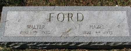 FORD, HAZEL - Burt County, Nebraska | HAZEL FORD - Nebraska Gravestone Photos