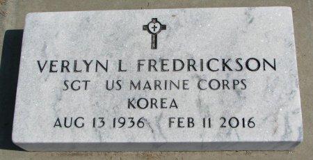 FREDRICKSON, VERLYN L. - Burt County, Nebraska | VERLYN L. FREDRICKSON - Nebraska Gravestone Photos