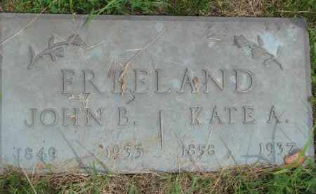 FREELAND, JOHN B. - Burt County, Nebraska | JOHN B. FREELAND - Nebraska Gravestone Photos