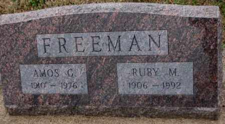 FREEMAN, RUBY M. - Burt County, Nebraska | RUBY M. FREEMAN - Nebraska Gravestone Photos