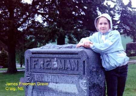 FREEMAN, JAMES - Burt County, Nebraska | JAMES FREEMAN - Nebraska Gravestone Photos
