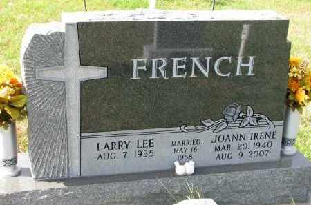 FRENCH, LARRY LEE - Burt County, Nebraska | LARRY LEE FRENCH - Nebraska Gravestone Photos