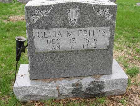 FRITTS, CELIA M. - Burt County, Nebraska   CELIA M. FRITTS - Nebraska Gravestone Photos