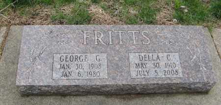 FRITTS, DELLA C. - Burt County, Nebraska | DELLA C. FRITTS - Nebraska Gravestone Photos