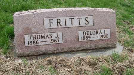 FRITTS, THOMAS J. - Burt County, Nebraska | THOMAS J. FRITTS - Nebraska Gravestone Photos