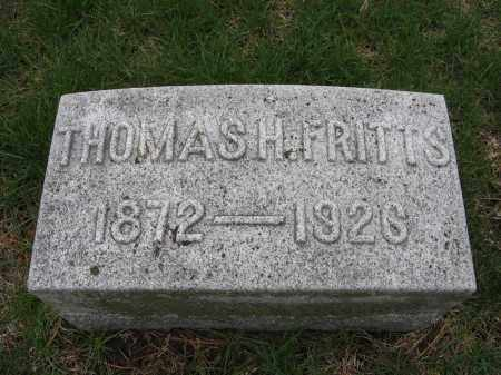 FRITTS, THOMAS H. - Burt County, Nebraska | THOMAS H. FRITTS - Nebraska Gravestone Photos