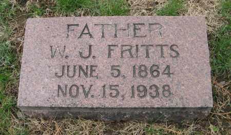 FRITTS, W. J. - Burt County, Nebraska | W. J. FRITTS - Nebraska Gravestone Photos