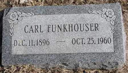 FUNKHOUSER, CARL - Burt County, Nebraska | CARL FUNKHOUSER - Nebraska Gravestone Photos