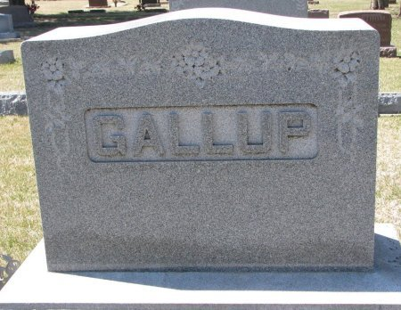 GALLUP, *FAMILY MONUMENT - Burt County, Nebraska | *FAMILY MONUMENT GALLUP - Nebraska Gravestone Photos