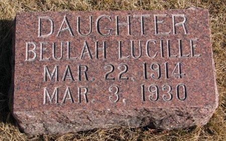 GALLUP, BEULAH LUCILLE - Burt County, Nebraska | BEULAH LUCILLE GALLUP - Nebraska Gravestone Photos