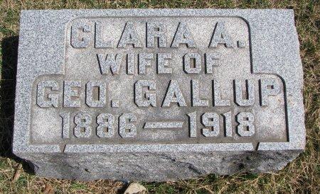 GALLUP, CLARA A. - Burt County, Nebraska   CLARA A. GALLUP - Nebraska Gravestone Photos