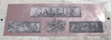 GALLUP, EDGAR J. - Burt County, Nebraska | EDGAR J. GALLUP - Nebraska Gravestone Photos