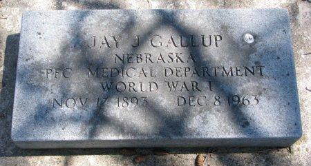 GALLUP, JAY J. - Burt County, Nebraska | JAY J. GALLUP - Nebraska Gravestone Photos