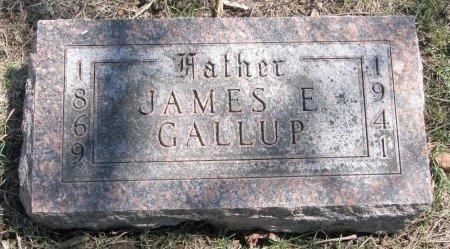 GALLUP, JAMES E. - Burt County, Nebraska   JAMES E. GALLUP - Nebraska Gravestone Photos
