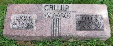 GALLUP, JOHN SILAS - Burt County, Nebraska | JOHN SILAS GALLUP - Nebraska Gravestone Photos