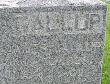 GALLUP, JAMES (CLOSE UP) - Burt County, Nebraska | JAMES (CLOSE UP) GALLUP - Nebraska Gravestone Photos