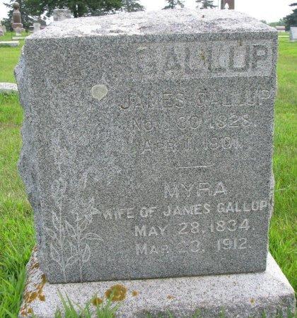 GALLUP, MYRA - Burt County, Nebraska | MYRA GALLUP - Nebraska Gravestone Photos