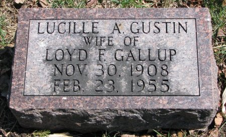 GALLUP, LUCILLE A. - Burt County, Nebraska | LUCILLE A. GALLUP - Nebraska Gravestone Photos