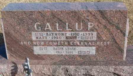 GALLUP, MARY - Burt County, Nebraska | MARY GALLUP - Nebraska Gravestone Photos