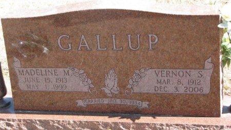 GALLUP, MADELINE M. - Burt County, Nebraska   MADELINE M. GALLUP - Nebraska Gravestone Photos