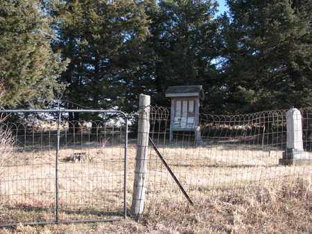 *GATE VIEW, FROM WEST - Burt County, Nebraska | FROM WEST *GATE VIEW - Nebraska Gravestone Photos