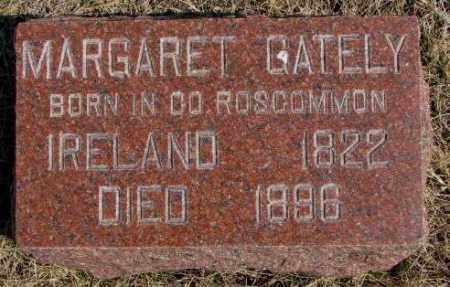GATELY, MARGARET - Burt County, Nebraska | MARGARET GATELY - Nebraska Gravestone Photos
