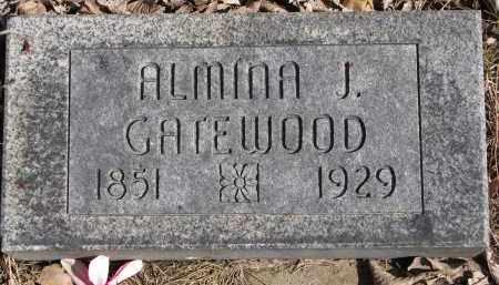 ZORNES GATEWOOD, ALMINA J. - Burt County, Nebraska | ALMINA J. ZORNES GATEWOOD - Nebraska Gravestone Photos