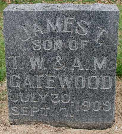 GATEWOOD, JAMES T. - Burt County, Nebraska | JAMES T. GATEWOOD - Nebraska Gravestone Photos