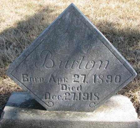 GATZEMEYER, BURTON - Burt County, Nebraska | BURTON GATZEMEYER - Nebraska Gravestone Photos