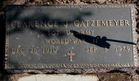 GATZEMEYER, CLARENCE J. - Burt County, Nebraska | CLARENCE J. GATZEMEYER - Nebraska Gravestone Photos